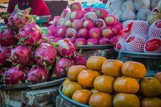 Mekong Delta Mekong Eyes Vietnam http://www.divergenttravelers.com/colors-mekong-delta-photo-essay/ #mekongdelta #Vietnam #mustsee #riverboat #handspandtravel #divergenttravel #divergenttravelers #bestblogpostof2014 #bestblog #mustread #travel #photos #mekongeyes #dragonfruit #Fruit