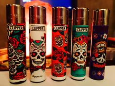 Clipper lighters. Don't flick the bic.