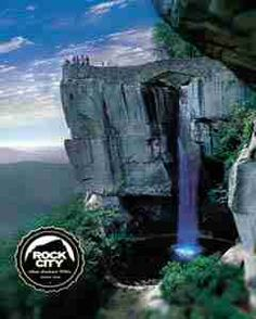 Lovers Leap Views at Rock City.. Lookout mountain is the TN start of the sale with rock city and ruby falls to stop by on the way