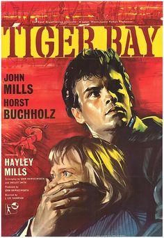 Nieletni świadek / Tiger Bay (1959, J. Lee Thompson) #HorstBuchholz #HayleyMills #JohnMills