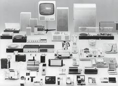 Products by Dieter Rams for Braun