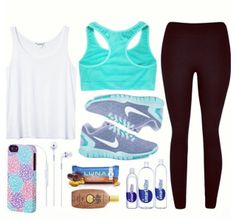 So lately i have been really enjoying working out! So i decided to make a board on pinterest to inspire me! So far this is my favorite outfit for workout clothing!  love it so much!