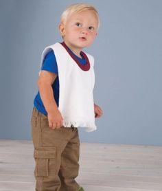 Rabbit Skins Towel Bib, Garnet, One Size LAT Sportswear - Rabbit Skins. $6.51