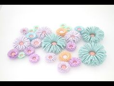 How to make beautiful 3D Quiling Flowers with Karen-Marie Klip