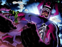 Galactus, Hulk and Silver Surfer by Ed McGuinness