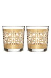 Waterford 'Mixology Mad Men Edition - Holloway' Lead Crystal Double Old-Fashioned Glasses (Set of 2)