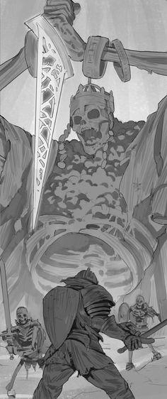 High Lord Wolnir,DSIII персонажи,Dark Souls 3,Dark Souls,фэндомы