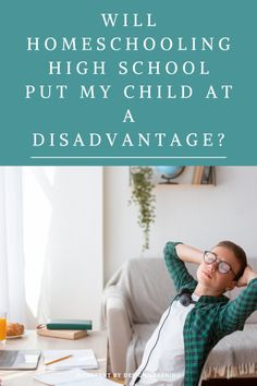 Will Homeschooling High School Put My Child At A Disadvantage? The practical advantages and disadvantages of homeschooling high school. Resources for building a high school transcript. Our Kids, My Children, High School Transcript, High School Years, Homeschool High School, Hands On Activities, Homeschooling Resources, School Resources, Learning
