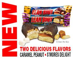 New Lean Body® GOLD bar with Baked Cookie center is once again America's Best Tasting Protein bar!