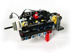 Lego RC - Sequential gearbox 3+R