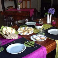 Colazione in agriturismo Ferrari, Table Settings, Place Settings, Tablescapes