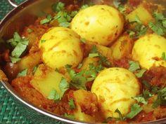 Egg & Potato Curry Recipe | Egg & Potato Lunch Recipe | Egg Recipes
