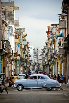Lovely, beautiful Havana, Cuba! I've been dreaming about a trip to this place forever and will hopefully visit it next year.