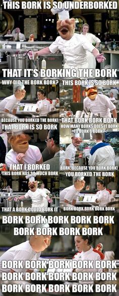 BORK Swedish Chef - Hell's Kitchen