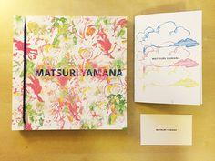 Matsuri Yamana's portfolio and namecard by Jafy Su, via Behance