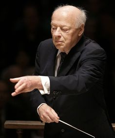 Bernard Johan Herman Haitink, (1929 -) is a Dutch conductor and violinist. Haitink has conducted and recorded a wide variety of repertoire, with the complete symphonies of Beethoven, Brahms, Schumann, Tchaikovsky, Bruckner, Mahler, Shostakovich and Vaughan Williams, and the complete piano concertos of Beethoven and Brahms with Claudio Arrau notable among his recordings.[