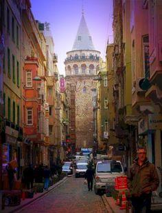 Galata Tower ...Istanbul feb.2013