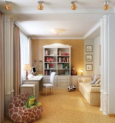 Kids Room, Child Room, Bookcase, Shelves, Interior Design, Wall, Home Decor, Nest Design, Room Kids