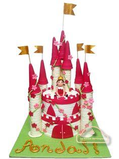 Castle cake - Cake by Radha Dhaka
