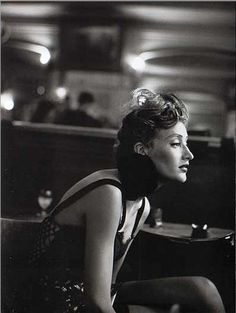 Vogue FR - Marie-Sophie Wilson - Montmartre - 1991 by PETER LINDBERGH