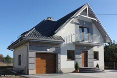Dom pod kasztanem 3 (N) Unique House Design, Design Case, Home Fashion, Smart Home, My House, Exterior, Mansions, Architecture, House Styles