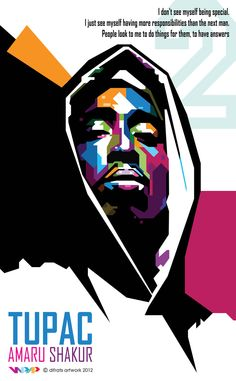 Tupac wpap by difrats