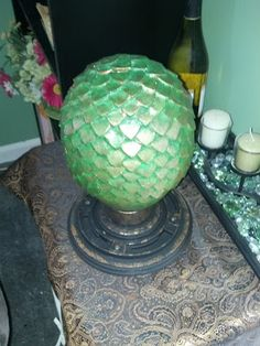 DIY Game of Thrones Dragon Eggs... alot of good pictures!