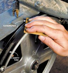 Clean Bandsaw Tires