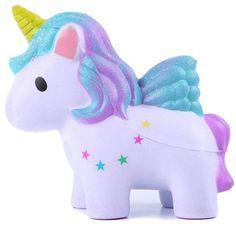 Fligatto d/écompression jouet mignon Milky Way Licorne Milky Cerf doux Cerf lentement Rising extrud/é enfants Jouets Style D