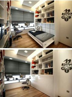 Home Office Spare Bedroom Layout.Guest Bedroom And Home Office. Bright Twin Daybed In Home Office Traditional With Twin . Neat Home Office Nooks HGTV. Home Design Ideas Guest Bedroom Office, Extra Bedroom, Guest Bedrooms, Bedroom Decor, Guest Room, Bedroom Storage, Small Bedrooms, Bedroom Ideas, Bedroom Hacks