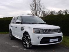 "A truly stunning looking car finished in Fuji White with Two Tone Ebony/Ivory Premium Extended Leather and Ebony Carpets. The level of specification is incredibly extensive and incorporates Touch Screen Satellite Navigation, Premium ICE, DAB Digital Radio, Digital TV Tuner, 20"" 10 Spoke Alloy Wheels, Front and Rear Heated Seats, Adaptive Xenon Headlights, Heated Windscreen, Privacy Glass, £42,850"
