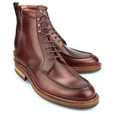 http://chicerman.com  carminashoemaker:  Carmina 80462 boots in burgundy  http://ift.tt/1G8whYr  #menshoes