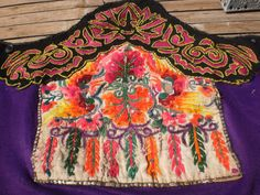 Embroided Vintage Textile By The Hmong Hilltribe People