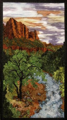 The Watchman by Sue Gilgen I love this image, I have a strong desire to create something like this, but of a place that is near and dear to my heart.  I need some help figuring out where to start.