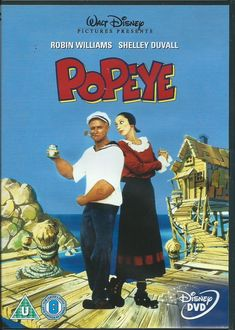 Adventure starring Robin Williams. Buff sailorman Popeye (Williams) arrives in an awkward seaside town called Sweet Haven. Popeye also discovers his long lost Pappy (Ray Walston) in the middle of it all. | eBay!