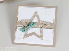 Stampin Up - Weihnachtskarte - Swap - Swaps - Convention Brüssel - Christmas Card - Weihnachten - Christmas ☆ Stempelmami