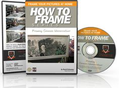 How to frame Chinese watercolors. DVD training for framing large oriental watercolours. Brisbane picture framer frames large water-color painting