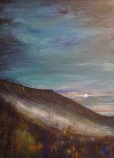 Misty Hills. Acrylic