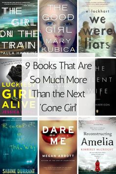 Can't get enough Gillian Flynn? Here are nine books to read if you liked Gone Girl. Books And Tea, Book Club Books, I Love Books, Book Nerd, The Book, Books To Read, My Books, Books That Are Movies, Book Clubs