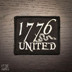 1776 United® Logo Patch
