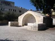 Israel - Mary's Well is located in the center of the downtown Nazareth, on the main road. The site is actually a modern water trough, which was buil. Terra Santa, New Jerusalem, Water Trough, Old And New Testament, Place Of Worship, Holy Land, Pilgrimage, Archaeology, Places To See