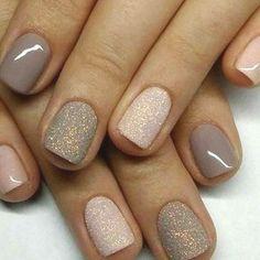 Stylish Nails, Trendy Nails, Pink Sparkle Nails, Pink Sparkles, Pink Nail, Glitter Nails, Nagellack Design, Short Nails Art, Dipped Nails