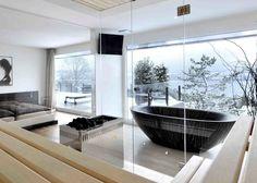 Bathtub by Bagno Sasso
