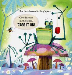 Beautiful Children's illustrations by MICHAEL SLACK
