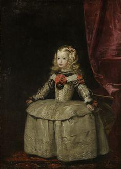 Margarita Teresa, Infanta of Spain (c. 1655) -Oil on canvas, Lobkowicz Palace, Prague