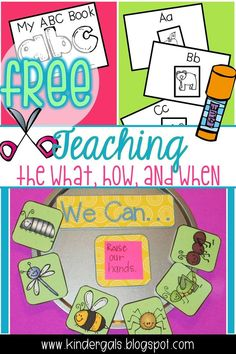 The Art of Teaching: The What, How, and When Primary Teaching, Free Teaching Resources, Teaching Phonics, Primary Classroom, Teaching Kindergarten, Kindergarten Activities, Teaching Reading, Classroom Activities, Classroom Organization