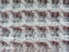I have added the waffle stitch to my stitch category. I have used a worsted weight #3 yarn but as it is quite a chunky design to crochet you may find .......