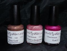 My World Sparkles Lacquers available at www.myworldsparkles.com/lacquers.html and on Etsy www.etsy.com/shop/MyWorldSparklesStore $8.00  #nailpolish, #nails, #followme, #indienails, #indienailpolish, #supportindies, #lovepolish