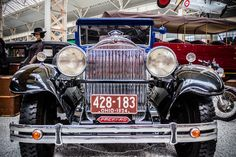 Packard Straight Eight Coupe,  8-Zylinder - Hubraum: 5261ccm - Leistung: 125PS Baujahr: 1929 Museum, Ohio, Antique Cars, Classic Cars, Antiques, Vehicles, Top Hats, Vintage Cars