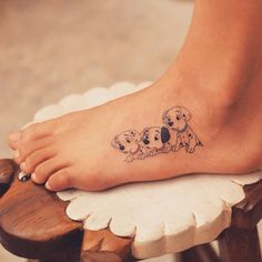 Cute And Tiny Disney Tattoo Ideas For Your Inspiration; Cute And Tiny Disney Tattoo Ideas; Tattoos For Dog Lovers, Dog Tattoos, Body Art Tattoos, Sleeve Tattoos, Tatoos, Hp Tattoo, Tiny Tattoo, Disney Tattoos Small, Small Tattoos